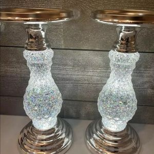 One Bath And Body Works Glitter Pedestal Holder